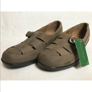 NEW Thom McAn Women's Brown Dalia Casual Shoes 10M